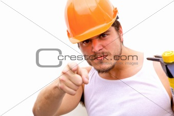 Tough Guy in a hard hat