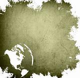 aged America map-grunge artwork