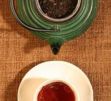 Chinese teapot and a cup of tea
