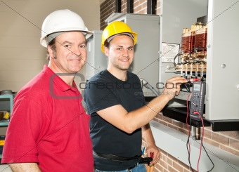 Electrician in Training
