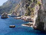 Coastline in Capri