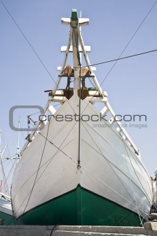 Schooner bow