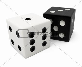 fake winning white bone for dice game