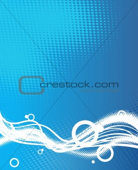 Abstract illustration. vector