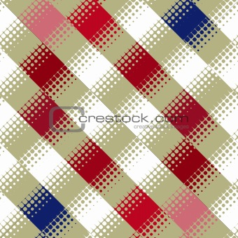 blocks and dots pattern