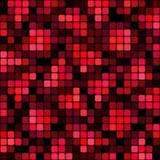 red blocks pattern