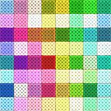 colorful rag pattern