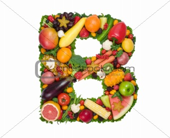 Alphabet Of Health - B