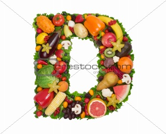 Alphabet Of Health - D