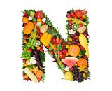 Alphabet Of Health - N