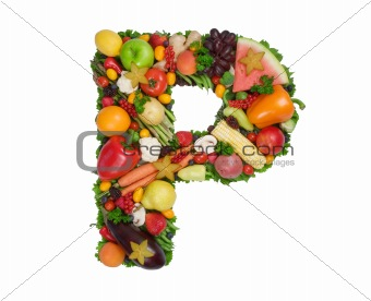 Alphabet Of Health - P