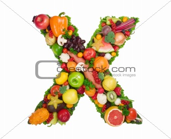 Alphabet Of Health - X