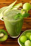 Kiwi honeydew smoothie
