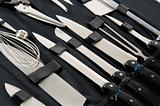 Professional Chef&#39;s knife set in black case