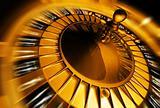 Golden roulette concept