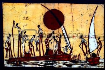 African Batik Image