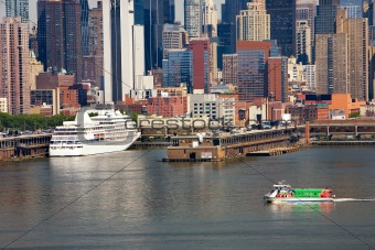 Cruise Ship at New York