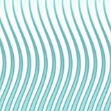 Wavy Blue Lines