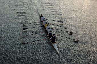 Rowers on the River