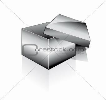 Three Dimensional Open Box
