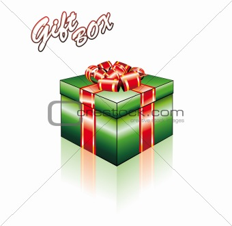 3D Colorful Gift Box