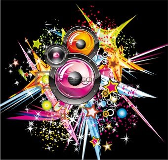Explosion of Colors music design