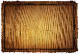 wood grungy background frame