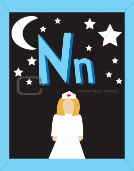 Flash Card Letter Nouns
