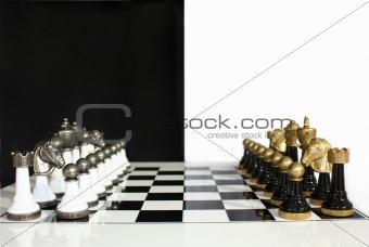 black versus white