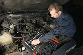 Fixing the motor