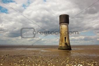 tower on a beach