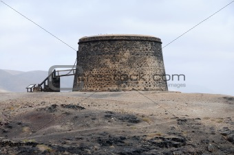 Castle Torre del El Toston, Fuerteventura, Canary Islands, Spain