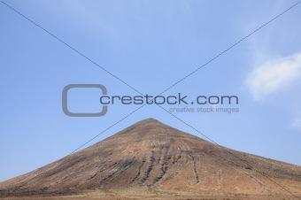 Volcano on Canary Island Fuerteventura, Spain