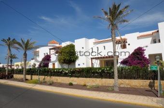 Avenida del Castillo in Caleta de Fuste, Fuerteventura