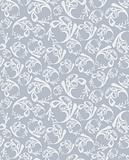 Seamless round grey pattern