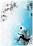 soccer poster blue background 5