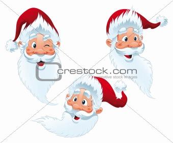 Santa Claus - expressions