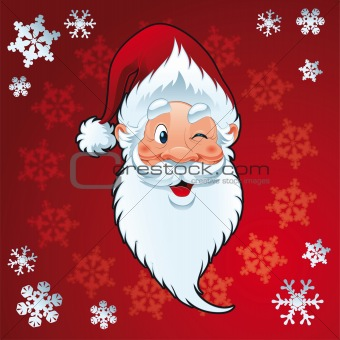 Santa Claus - Christmas Card