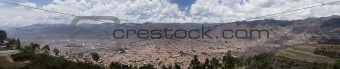 City of Cuzco Peru Panoramic