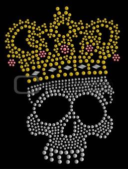 skull stone artwork
