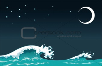 Wave in the night