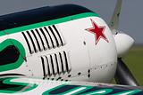 Nose of an aerobatic aircraft