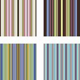 Seamless patterns with stripes