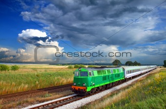 Intercity train