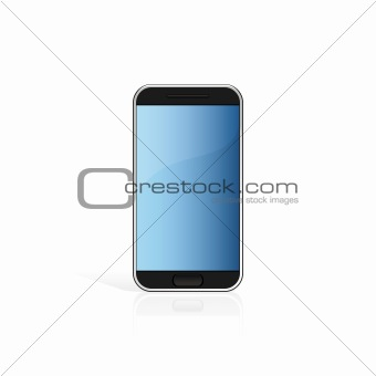 Touch screen cell phone