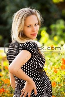 Beautiful pregnant girl