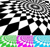 Set of vector dynamic pattern