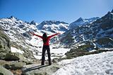 big greeting at snow valley