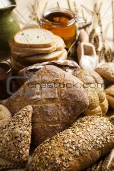 Bread  background
