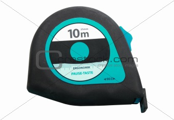 Blue - black tapemeasure. New condition.